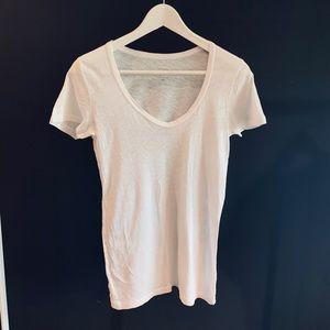J.Crew Vintage Cotton Scoop Neck T-Shirt